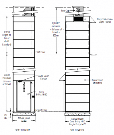Aussie Lifts – Gemini Lift