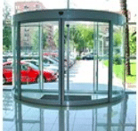 Curved Automatic Doors