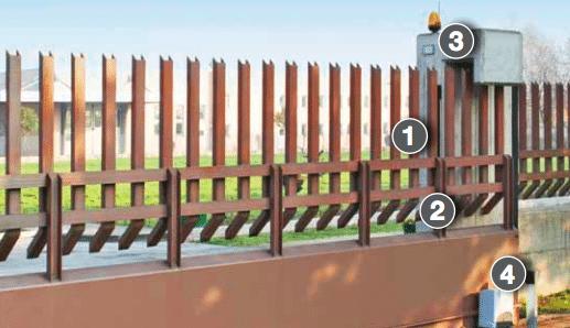 Mechanical Sliding Gate Opener